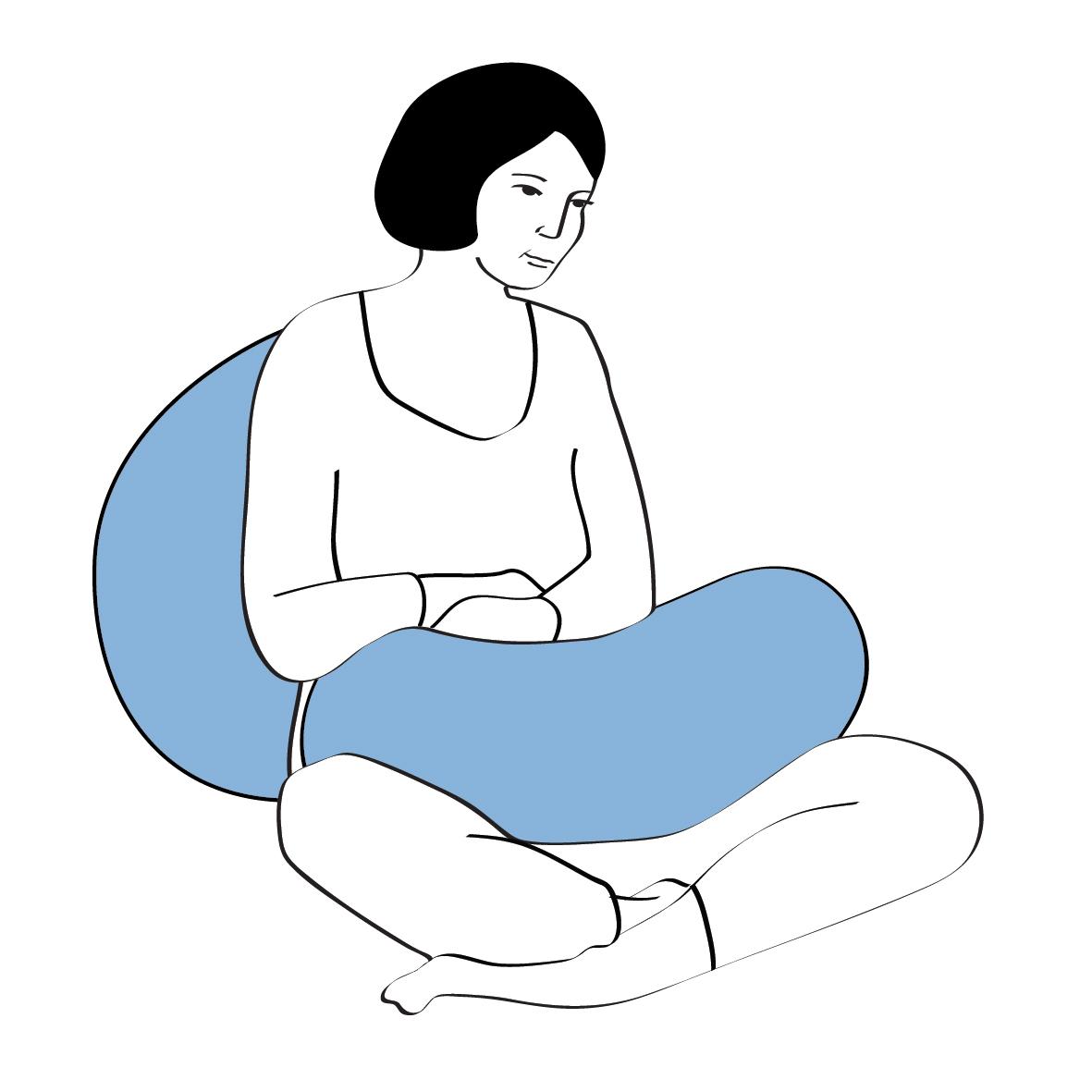 Bezug weiss NEU Motherhood Still C inkl und Lagerungskissen medical